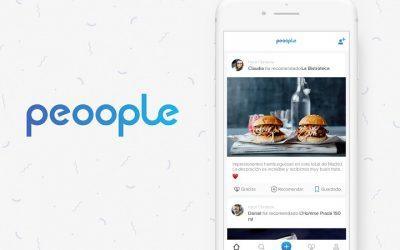 Peoople, la nueva app de recomendaciones.